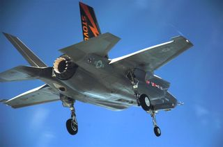 F-35 STOVL BF-1 flight test 9-08