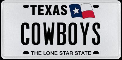 Cowboyswhiteplate